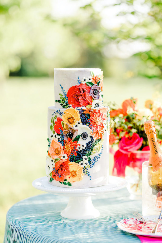 cakes perfect for spring weddings