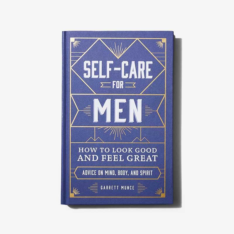 """""""Self-Care for Men"""" book"""