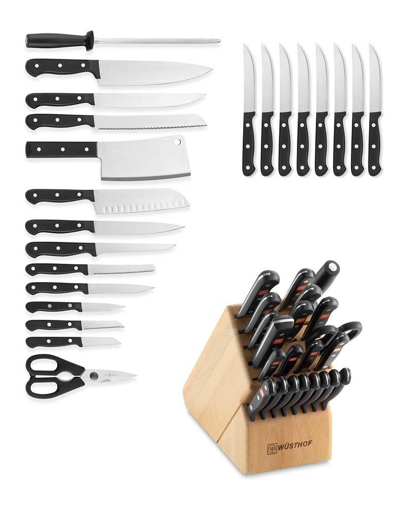 23 piece knife set